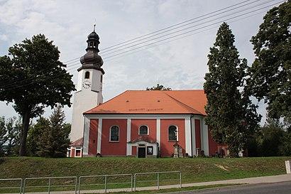 How to get to Mníšek U Liberce with public transit - About the place