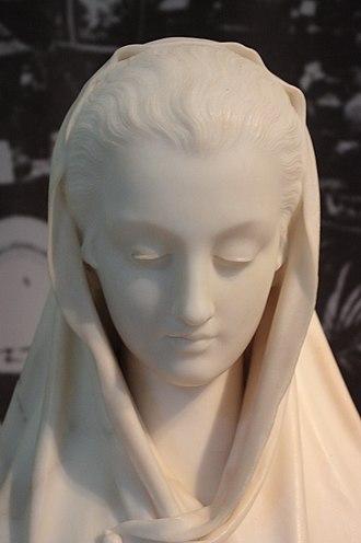 Giosuè Argenti - Modesty by G Argenti 1866