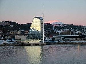 Kjell Kosberg - Rica Seilet Hotel and Aker Stadion in Molde