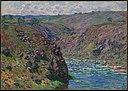 Monet - Valley of the Creuse (Sunlight Effect), 1889.jpg