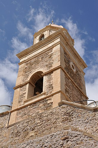 Toplou Monastery - The bell tower