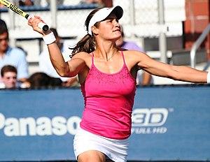 Monica Niculescu - Monica Niculescu at the 2010 US Open