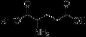 Monopotassium glutamate - Image: Monopotassium glutamate