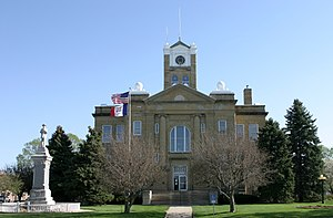 Albia, Iowa - Monroe County Courthouse