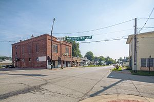 Monrovia, Indiana - Image: Monrovia, Indiana