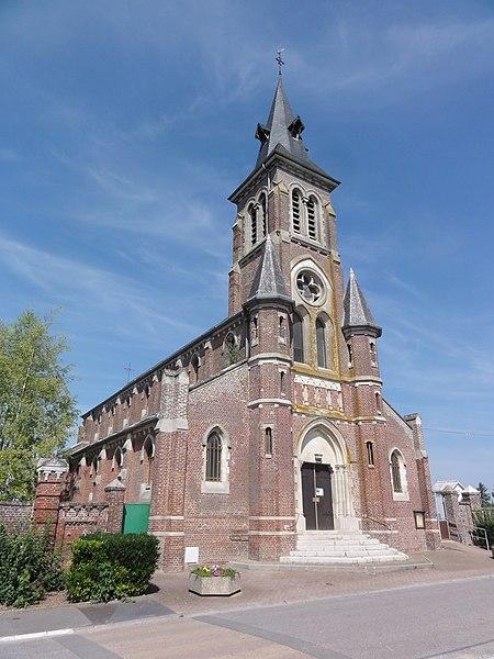 Mont-d'Origny (Aisne) église