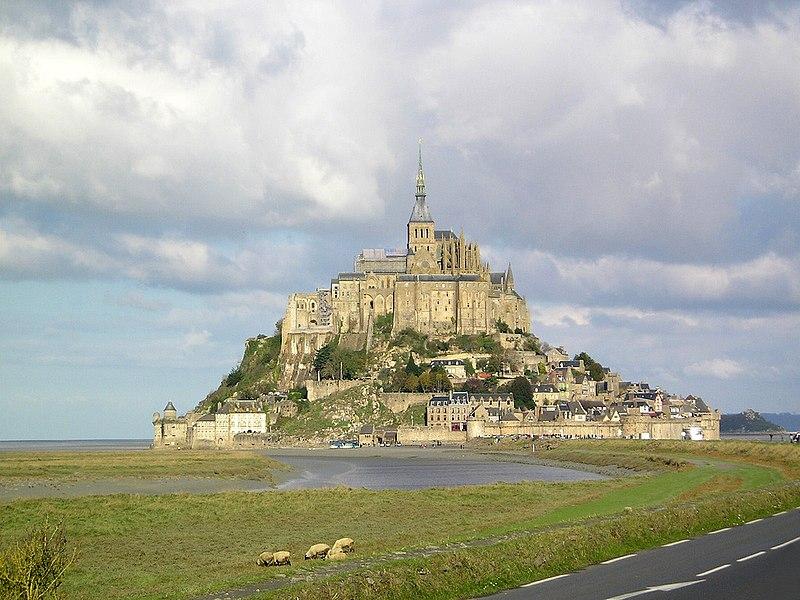 Súbor:Mont Saint-Michel France.jpg