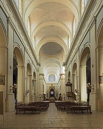 Montauban Cathedral - Image: Montauban Cathédrale intérieur