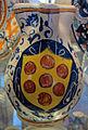 Montelupo, boccale con stemma medici, 1500-1525 ca..JPG