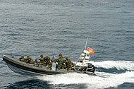 Montenegrian Military inflatable boat.jpg