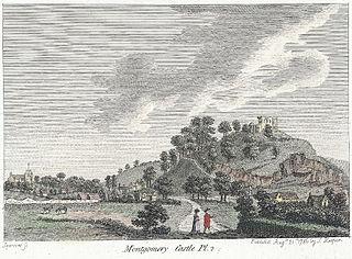 Montgomery Castle. Pl.2