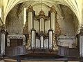 Montreuil (Pas-de-Calais), church Saint-Saulve, the pipe organ.JPG