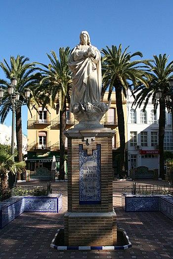 Monumento a la Inmaculada Concepci%C3%B3n - Ayamonte