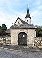 Moosburg Knasweg Filialkirche hll. Andreas und Nikolaus und Friedhofstor 11092018 4577.jpg