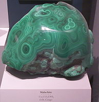 Polished Malachite.