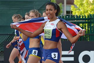 Morgan Lake British athlete