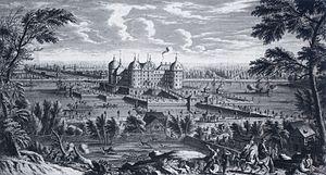 Moritzburg Castle - Moritzburg Castle in 1733