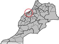 Morocco, region Grand Casablanca, préfecture Mohammédia.png