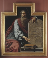 Moses with the Tablets of the Law