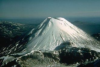 Taupo Volcanic Zone - Mount Ngauruhoe