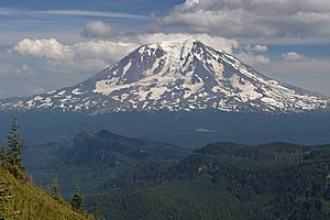 Mount Adams (Washington) - Mount Adams from the west-northwest