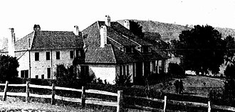 Peppers Manor House - Peppers Manor House (then called Mount Broughton) in 1929