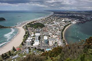 Mount Maunganui Place in Bay of Plenty, New Zealand