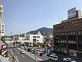Mount Sarakurayama from Kurosaki Station 4.jpg