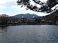 Mount Tateishiyama and Lake Kinrinko from southwest lakeside 2.JPG