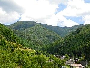 Kyoto Tamba Kogen Quasi-National Park - Image: Mt.Chorogadake