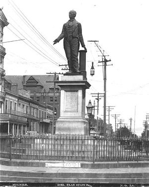 Joel Tanner Hart - 1860 statue of Henry Clay in New Orleans
