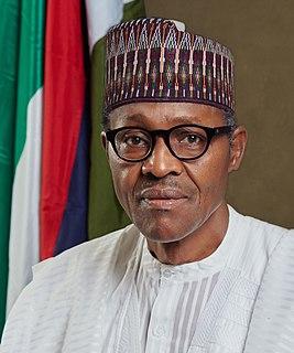 Muhammadu Buhari Nigerian president