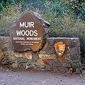 MuirWoodsAutoEntranceSign1 20150920.jpg