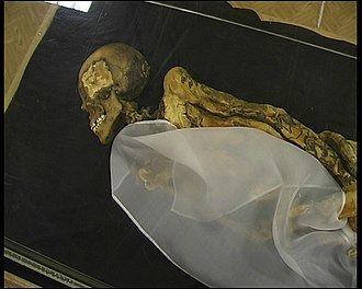 Pazyryk burials - The Ice Maiden - fifth century BC
