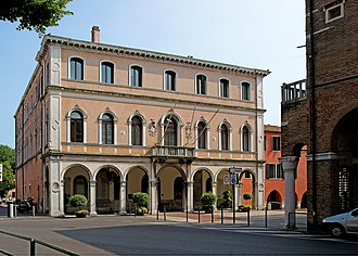 Mestre - Il Palazzo Podestarile, the City Hall of Mestre