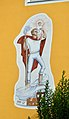 Mural Saint Christopher by Toni Hafner, Paternion 1972.jpg