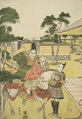 Musashibo Benkei Brings the Captured Tosabo Shoshun to Yoshitsune in the Play Horikawa Youchi no Zu Uki-e Nimaitsuzuki.png