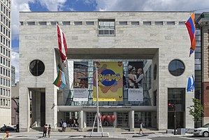 Montreal Museum of Fine Arts - Image: Museum of Fine Arts, main entrance, Montreal