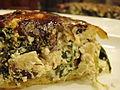 Mushroom Spinach Tart (4089922846).jpg
