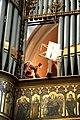 Musikantenöffnung im Orgelprospekt der St.-Mauritz-Kirche, Münster, Deutschland.JPG