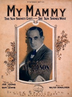 My Mammy song performed by Al Jolson
