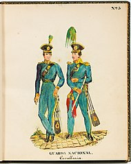 Nº 3 Guarda Nacional. Cavallaria