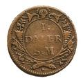 Nödmynt, 1718 - Skoklosters slott - 109272.tif