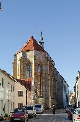 Wenzel Parler - Image: Nördlingen, St. Salvator Kirche 004