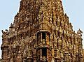N-GJ-126 Dwarkadhish Temple, Dwarka Temple Tower Closeup.jpg