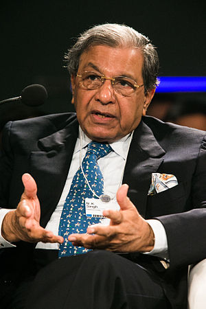 N. K. Singh - Singh at the World Economic Forum on India in 2012
