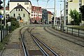 N04.24 Zwickau Zentrum, Trennung Regel- und Meterspur.jpg