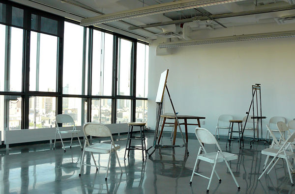 Painting/Drawing studio and classroom in 41 Cooper Square. NAB 9th floor studio.jpg