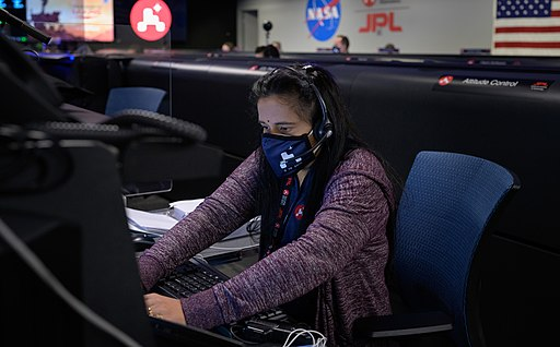 NASA Perseverance Rover Landing Day (NHQ202102180010)