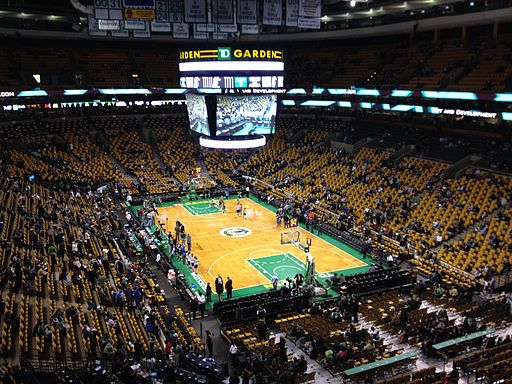 NBA - February 2014 - Celtics vs Spurs - TD Garden - 2
